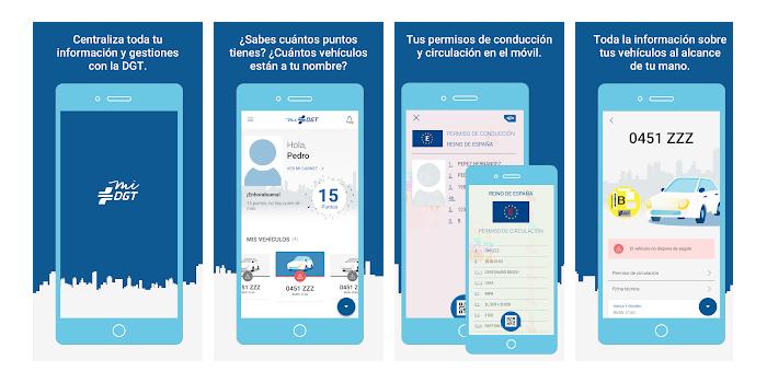 MiDGT: Aplicación con información para el conductor y permisos de ubicación