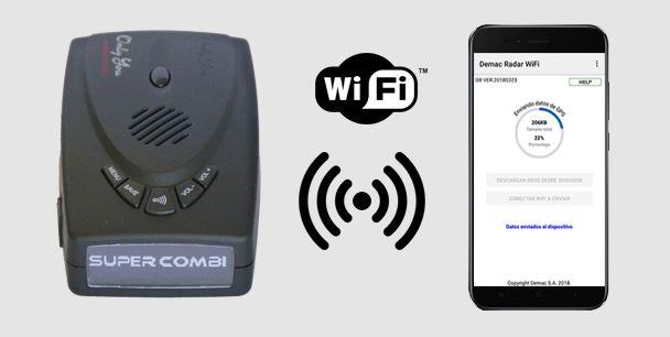 Actualización de puntos de aviso vía WiFi desde Smartphone Android o iOS