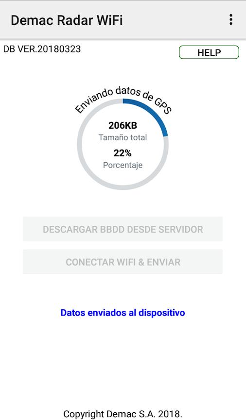 Onlyyou Supercombi III: Actualización de radares vía Wifi