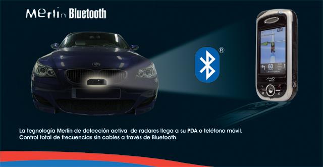 Detector Merlín Bluetooth