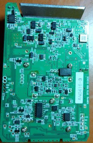 Parte abajo placa Genevo HDM+