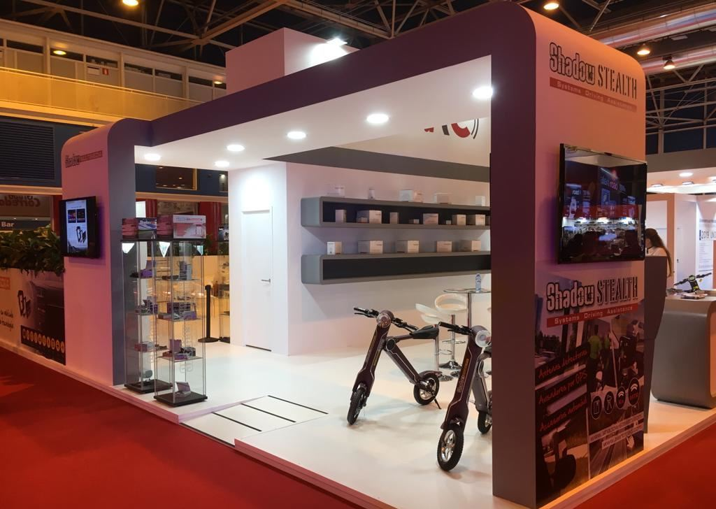 Shadow-Stealth en Motortec Automechanika 2019