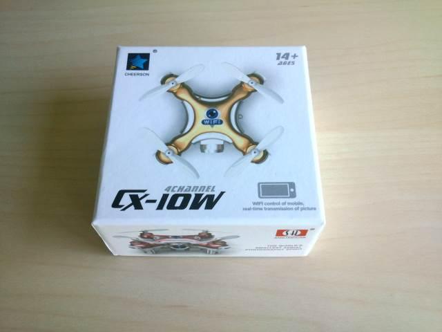 Caja del dron Cheerson CX-10W