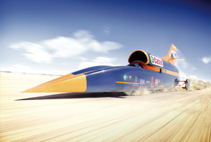 Fotos: Los vehículos más rápidos de la historia