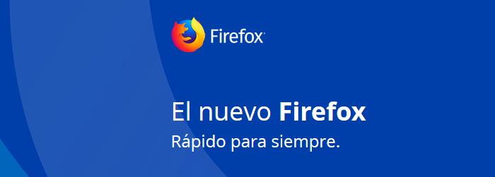 Diferencias entre las cuatro versiones de Firefox para escritorio: Versión Stable