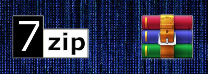 Comparativa de compresores 7-Zip vs WinRAR