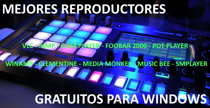 Mejores reproductores multimedia gratuitos para Windows