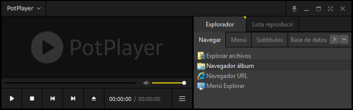 PotPlayer: Sencillo reproductor de audio/video