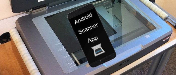 Aplicaciones para escaneo de documentos desde Android
