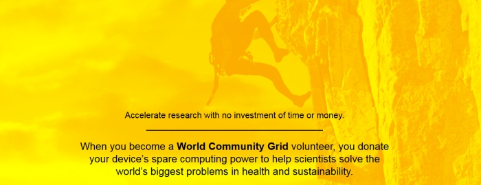 Proyecto World Community Grid: Dona a la ciencia tu tiempo de computación sobrante