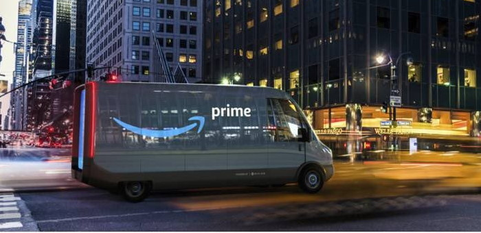Amazon compra 100.000 furgonetas eléctricas de la marca Rivian