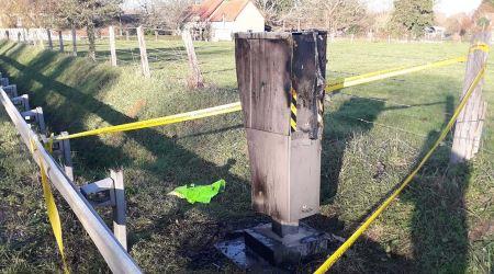 Francia: Los chalecos amarillos dejan 600 radares fuera de servicio
