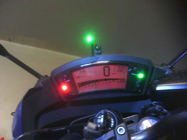 Instalación InfoRad Moto