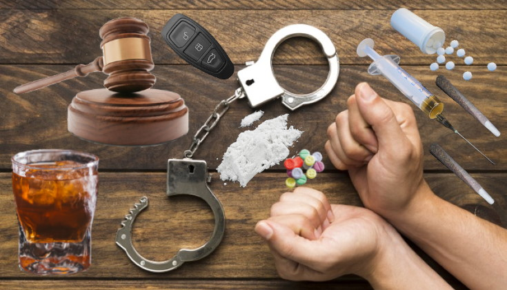 Sentencias por delitos viales en el año 2018