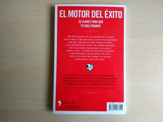 El libro de Alex Marin (Forocoches): El motor del éxito
