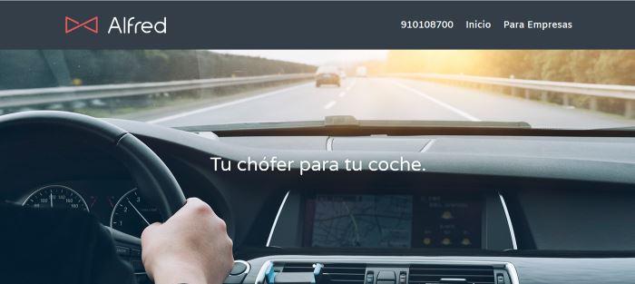 Alfred Chofer: Tu chofer para tu coche