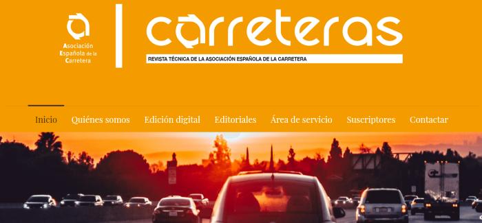 Revista técnica digital de la Asociación Española de la Carretera