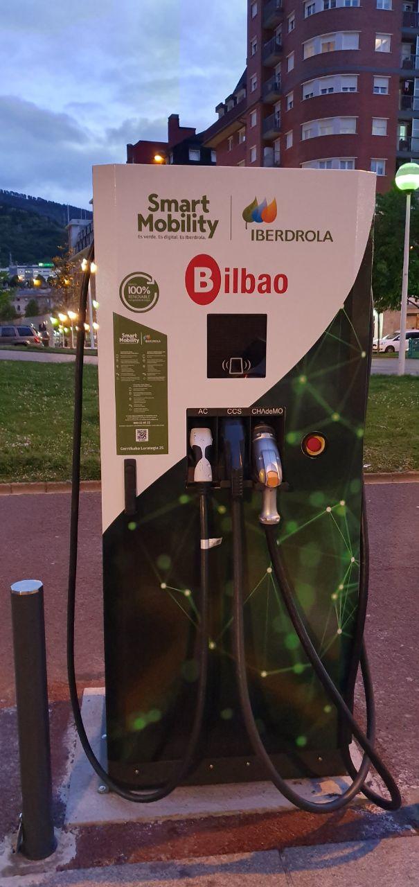 Smart Mobility: Puntos de recarga de Iberdrola para coches eléctricos