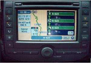 Navegador integrado de Ford