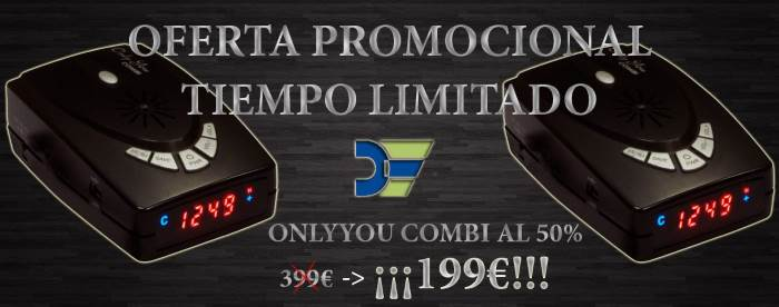 Oferta promocional Onlyyou Combi