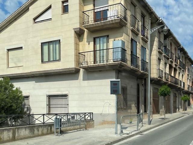 Radar fijo en Calahorra - Calle de Mediavilla