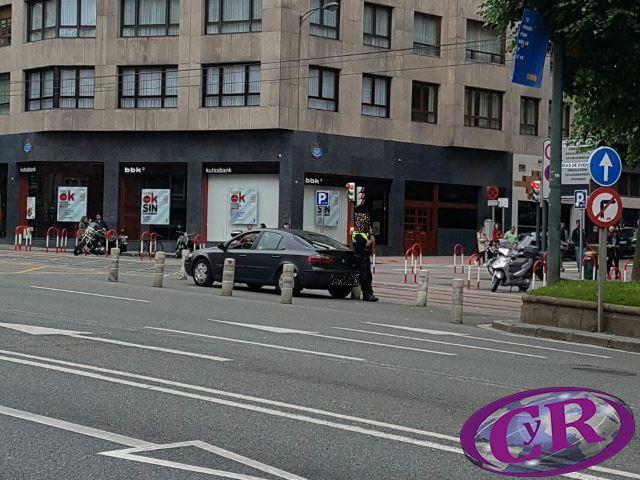 CyrSocial: Ejemplo de radar móvil sancionando de tipo Multanova o Multaradar