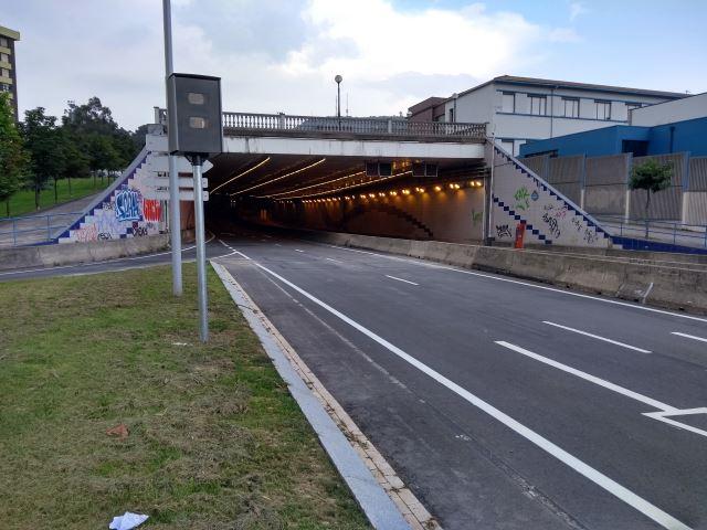 Nuevo radar fijo en Bilbao en Calle Carmelo Bernaola