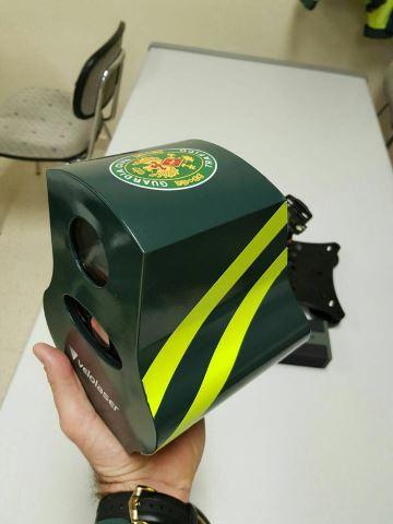 Cinemómetro Velolaser de la Guardia Civil