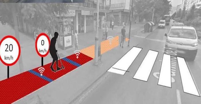Adaptando vías para mejorar la seguridad de vehículos de movilidad personal
