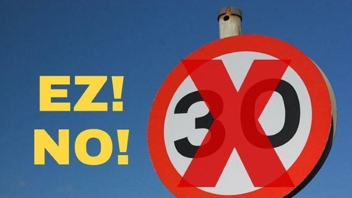 Firma la petición: Supresión del límite de 30km/h en Bilbao