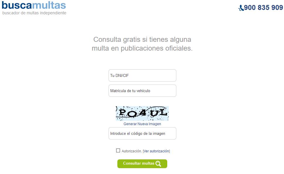 Buscamultas.com: Buscador de multas de DVuelta