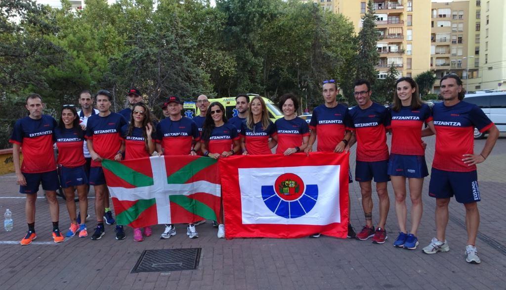 Ertzaintza, 81 medallas en los Juegos Europeos de Policía y Bomberos de Algeciras 2018