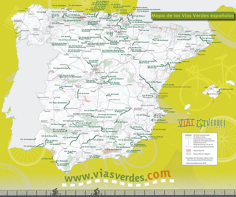 Fundación de los Ferrocarriles Españoles - Vías Verdes