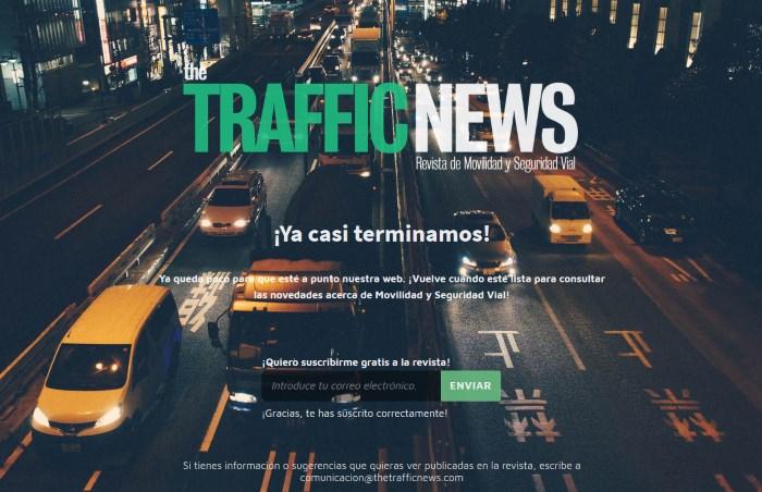 The Traffic News: Nueva revista digital